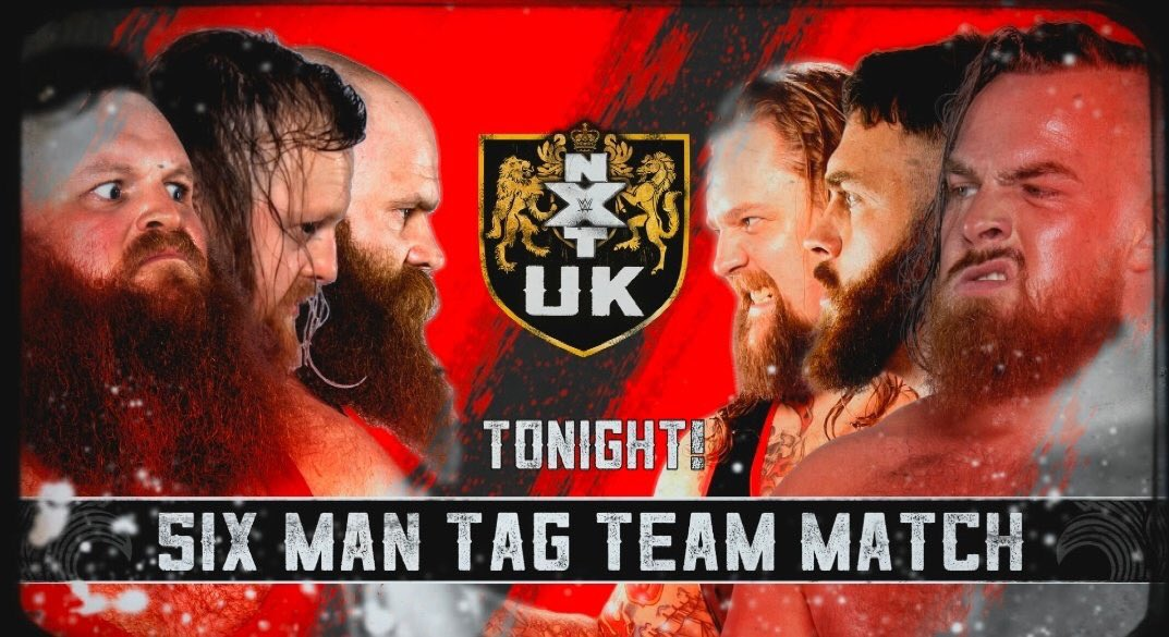 Road to #nxtuktakeovercardiff continues. Gonna batter Gallus with a couple of wild animals by my side. Tonight 8pm GMT exclusively on @WWENetwork its @NXTUK
