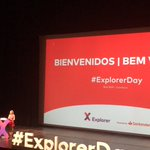 Image for the Tweet beginning: Here we are  @ExplorerByX #ExplorerDay
