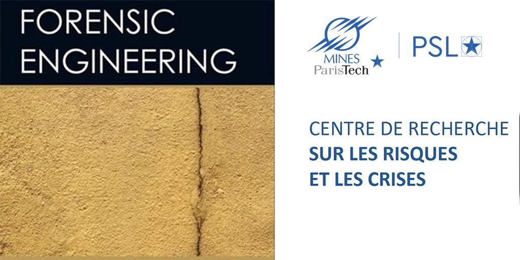 🚨Le centre de #recherche #CRC lance un nouveau cours « Forensic Engineering » à @MINES_ParisTech ! Proposé aux élèves du cycle « #ingénieurcivil » en 1er année dans le cadre des #MIG « Métiers de l'#ingénieur généraliste » : https://buff.ly/2XCXEhn @GuarnieriFranck