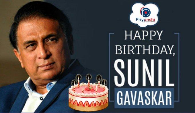 and former Sunil Gavaskar a very