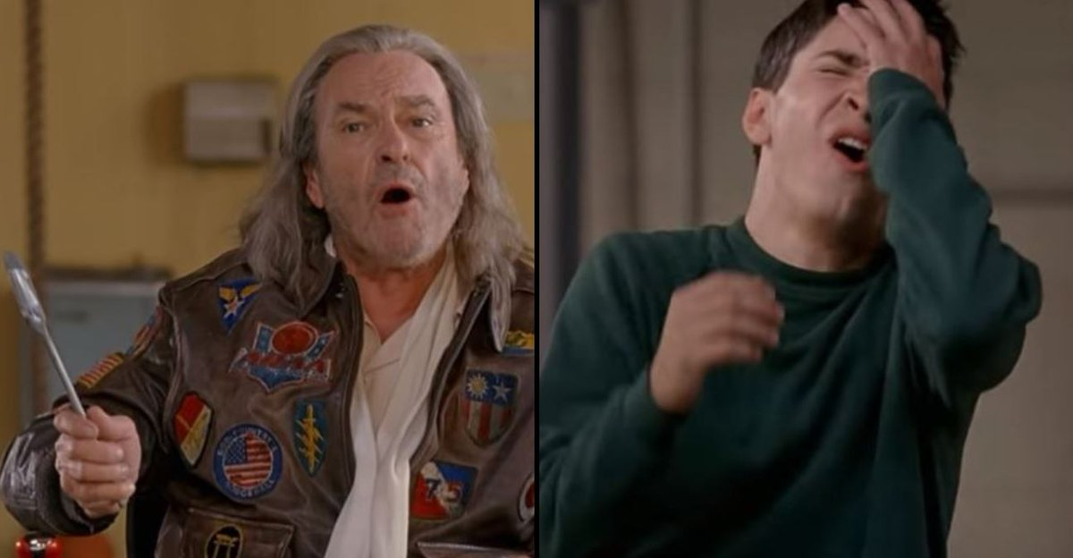 """""""If you can dodge a wrench, you can dodge a ball!""""- RIP Rip Torn."""