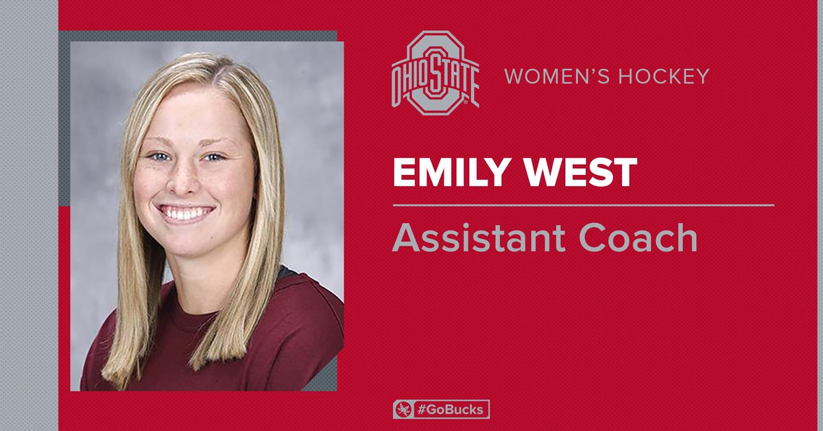 Happy to welcome Emily West to the Buckeye coaching staff!!  :  http:// go.osu.edu/071019west      #GoBucks<br>http://pic.twitter.com/tbcg3G9bLp