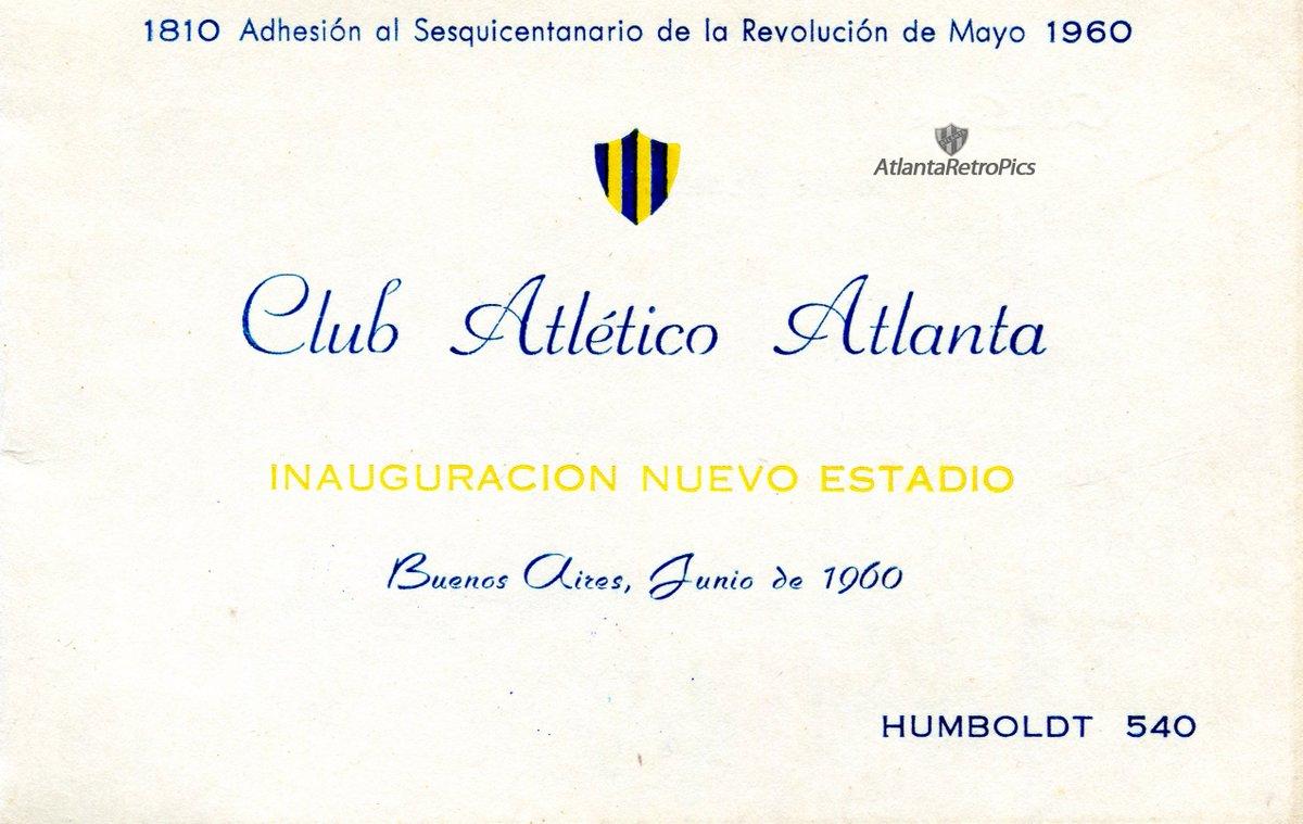 Atlantaretropics On Twitter 1960 Tarjeta De Invitación A