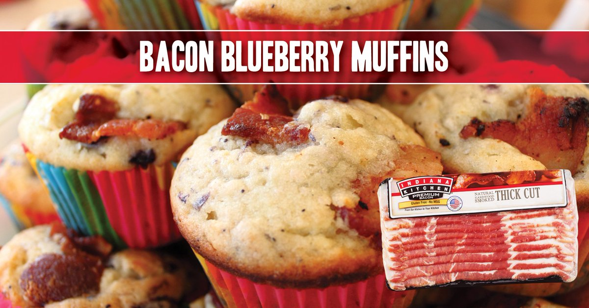 Pulled from the Indiana Kitchen archives in time for #NationalBlueberryMuffinsDay (tomorrow!), here's the muffin recipe to end all muffin recipes!  Get recipe:    View product:    #EverythingsBetterWithBacon #AndWeMeanEverything ... https://t.co/02SqK9ChQa https://t.co/czzcyj4KoI https://t.co/eyPSorG4bi