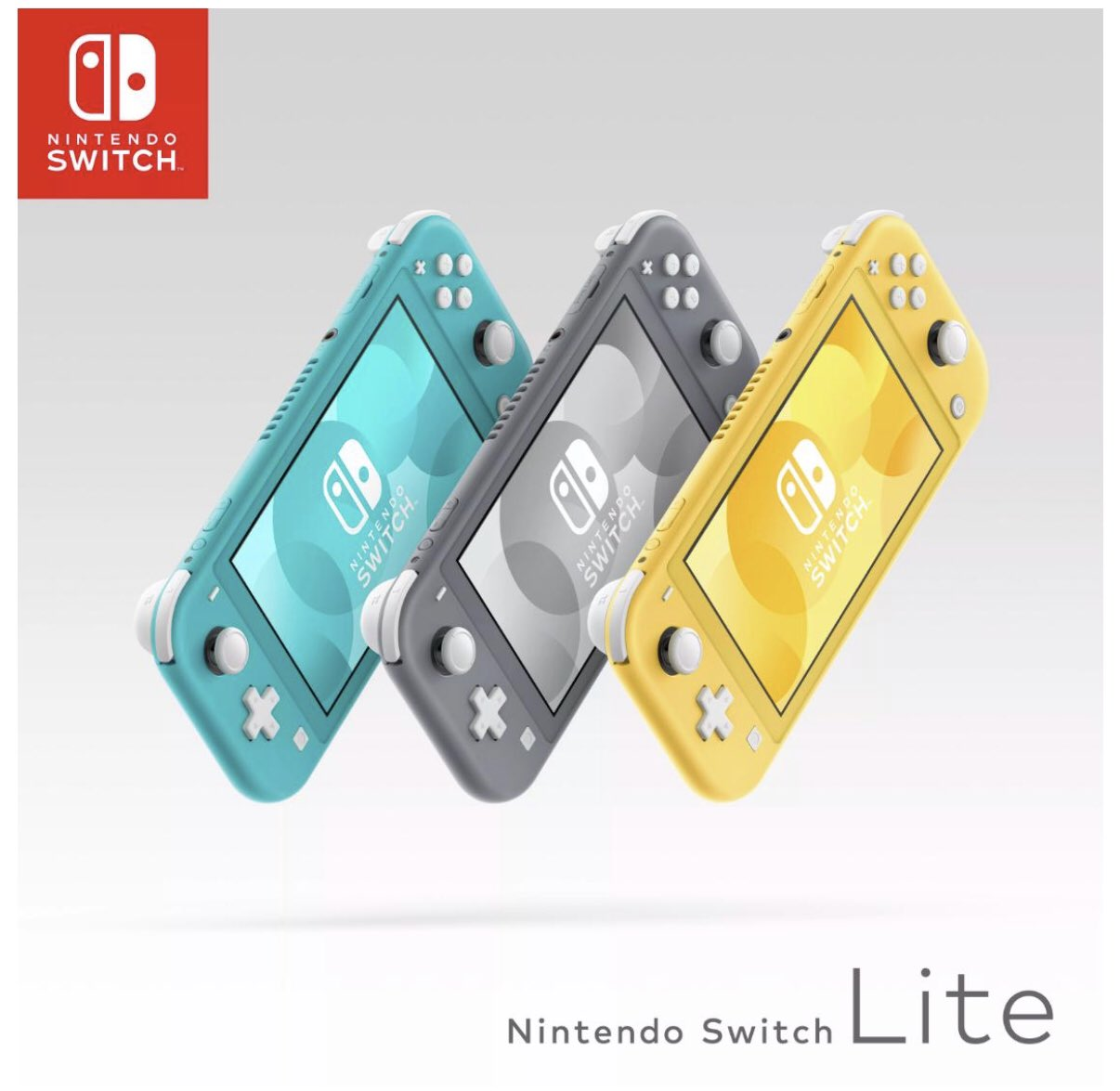Nintendo Switch Lite is coming in Yellow, Grey, and Turquoise. Paul Gale Network likes each option!