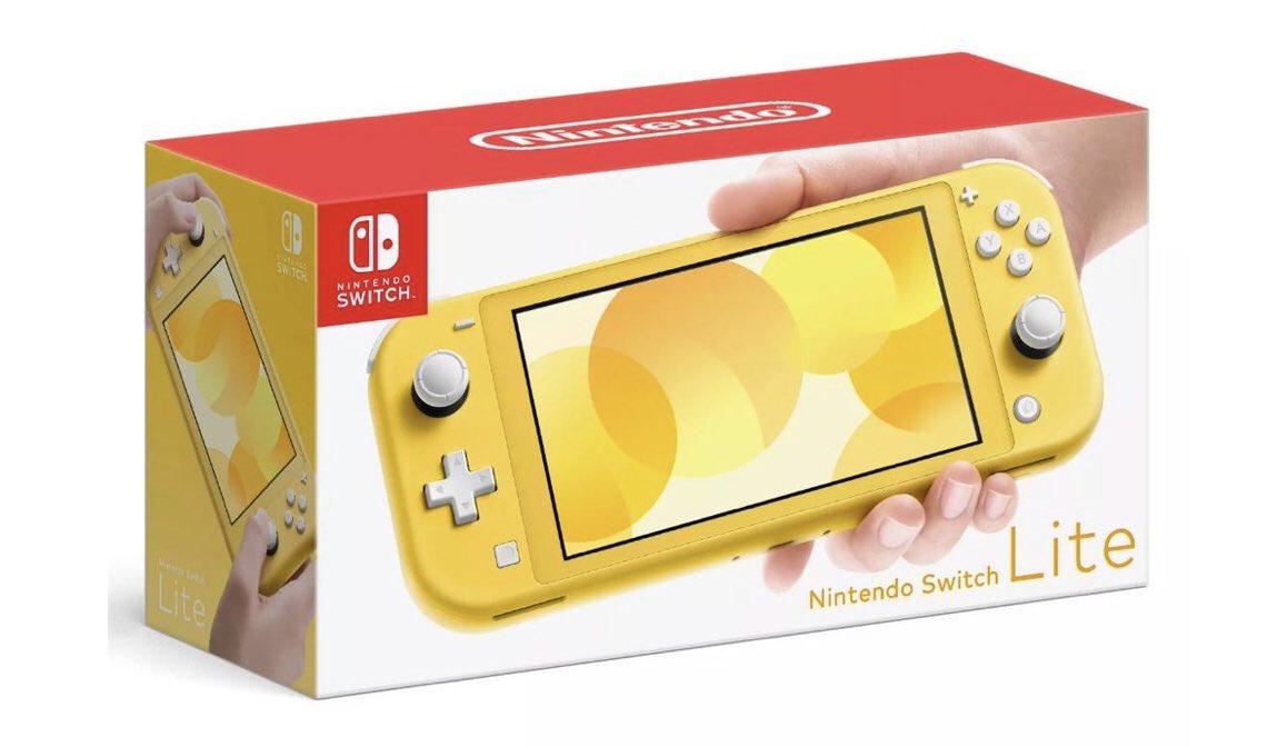 Nintendo Switch Lite boxart on Paul Gale Network.