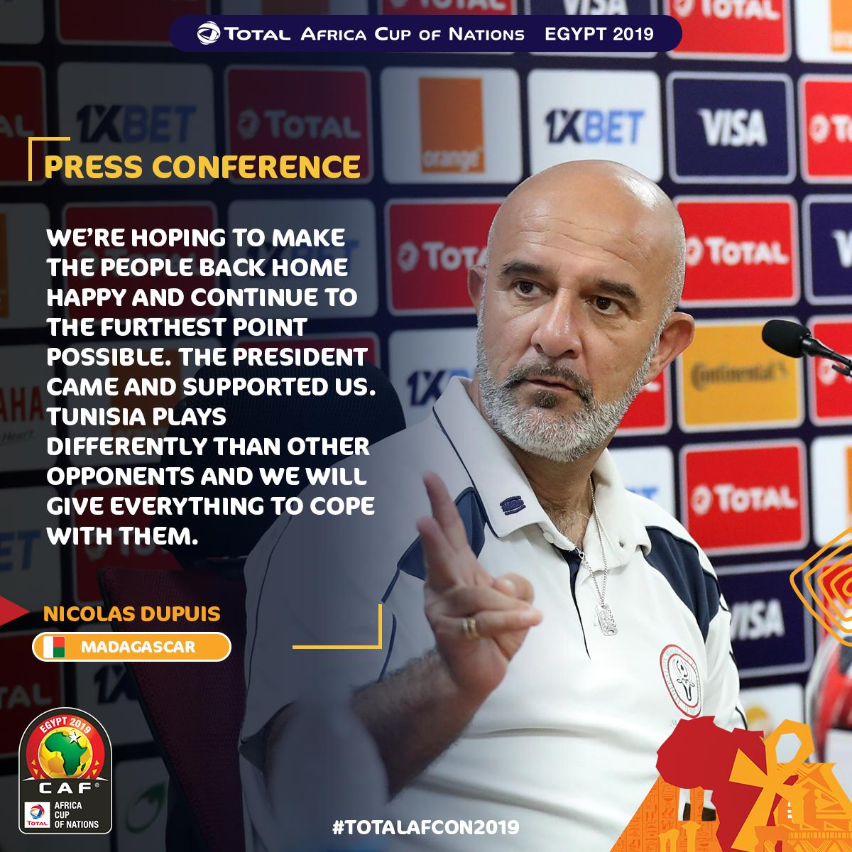 #ALEFABAREA has a message for the people back home   #TotalAFCON2019<br>http://pic.twitter.com/HTd1et9Aen