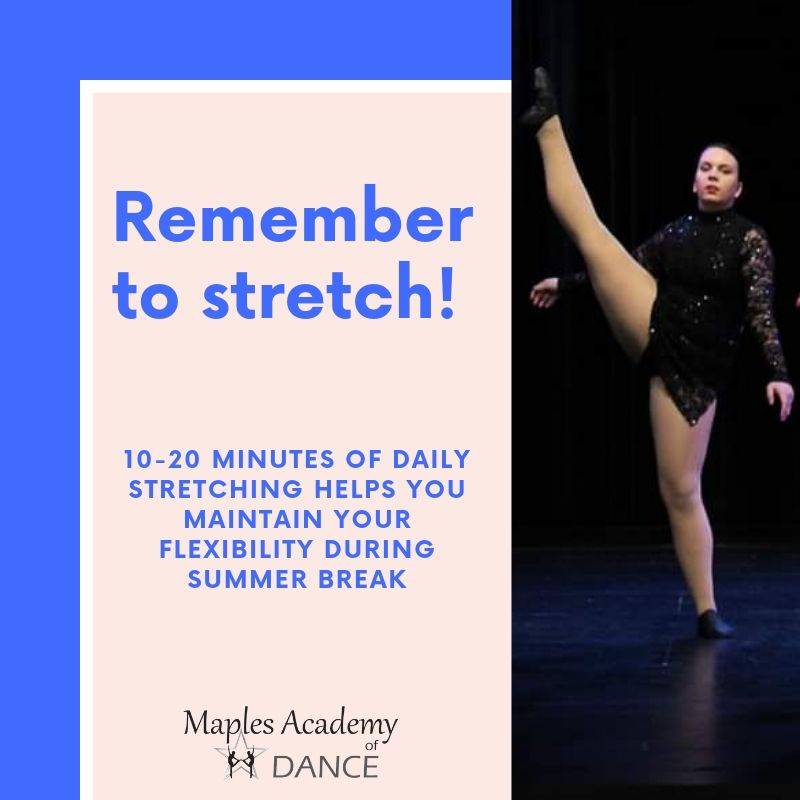 Remember to stretch! #WellnessWednesday #Stretch #DancerTips pic.twitter.com/ruflaKsER1