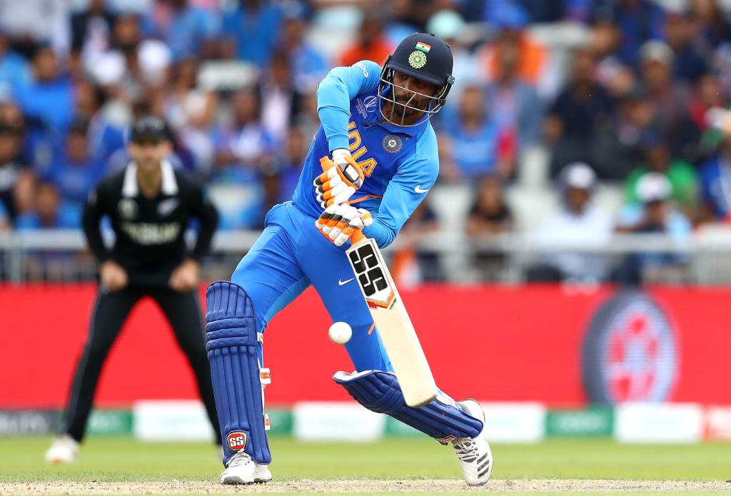 His team might have fallen to defeat, but how good was Ravindra Jadeja today?  His 77 off 59 balls was the second highest score by a No. 8 in World Cup history, and almost helped India pull off an incredible comeback win 💪  #CWC19 | #TeamIndia | #INDvNZ