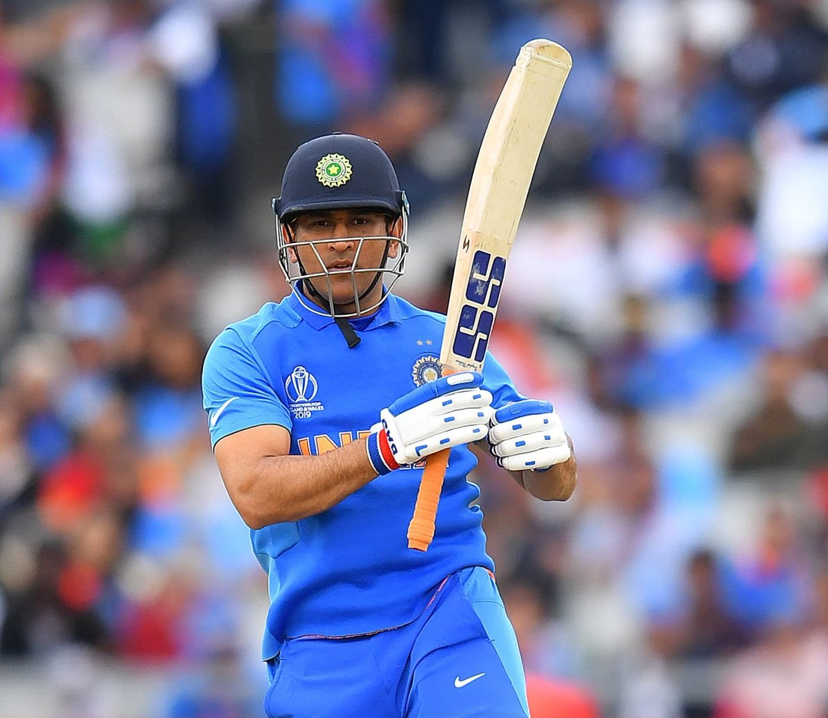 There is always a but and an if. Nevertheless, he is Never the Less.  #WhistleForIndia #Thala #INDvNZ #CWC19<br>http://pic.twitter.com/dcFXeBuI43
