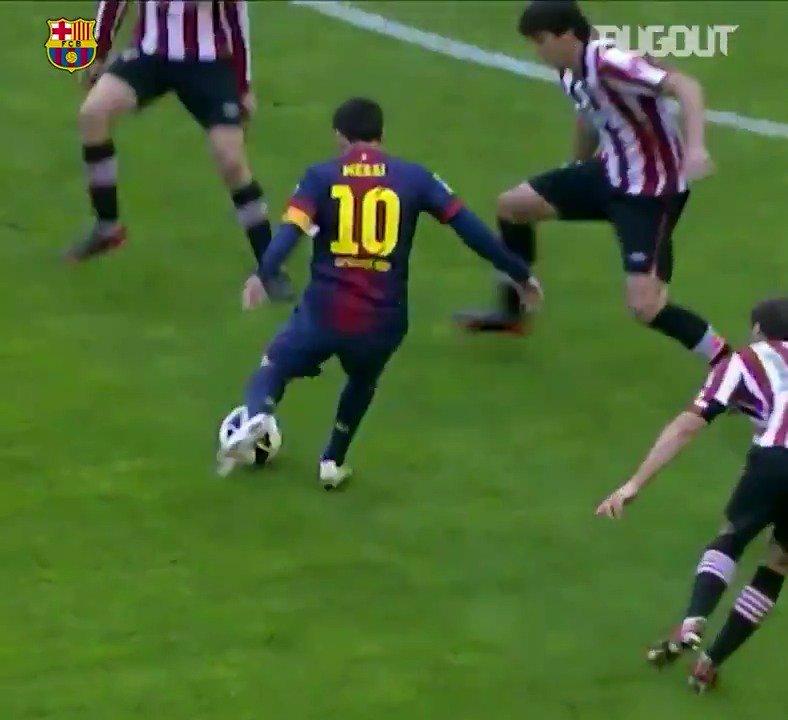 Some of Lionel Messi's best moments in a @FCBarcelona shirt 🔥