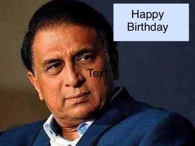 Happy Birthday to the original master blaster Sunil Gavaskar. The best test opener India ever had.