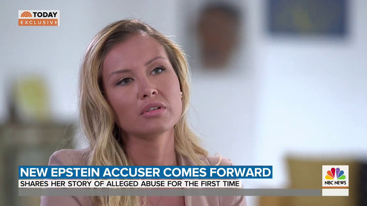 Epstein accuser Jennifer Araoz says he assaulted her & raped her when she was in high school.  Araoz is not part of the federal criminal case against him, but she's sharing her chilling account of how she claims she was recruited, groomed &raped by him. https://t.co/vLFen57Wzw