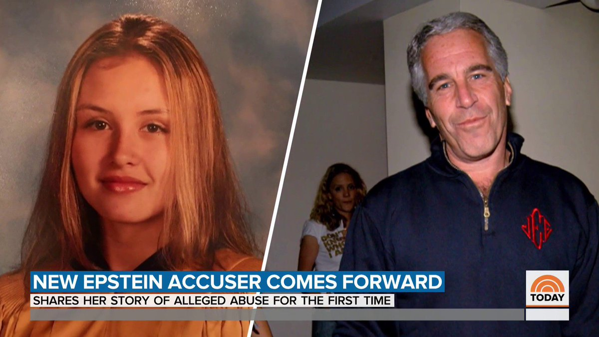 Jeffrey Epstein accuser Jennifer Araoz shares details of her first encounter with Epstein, including graphic artwork he had inside his home. https://t.co/SgTCvqsWuK