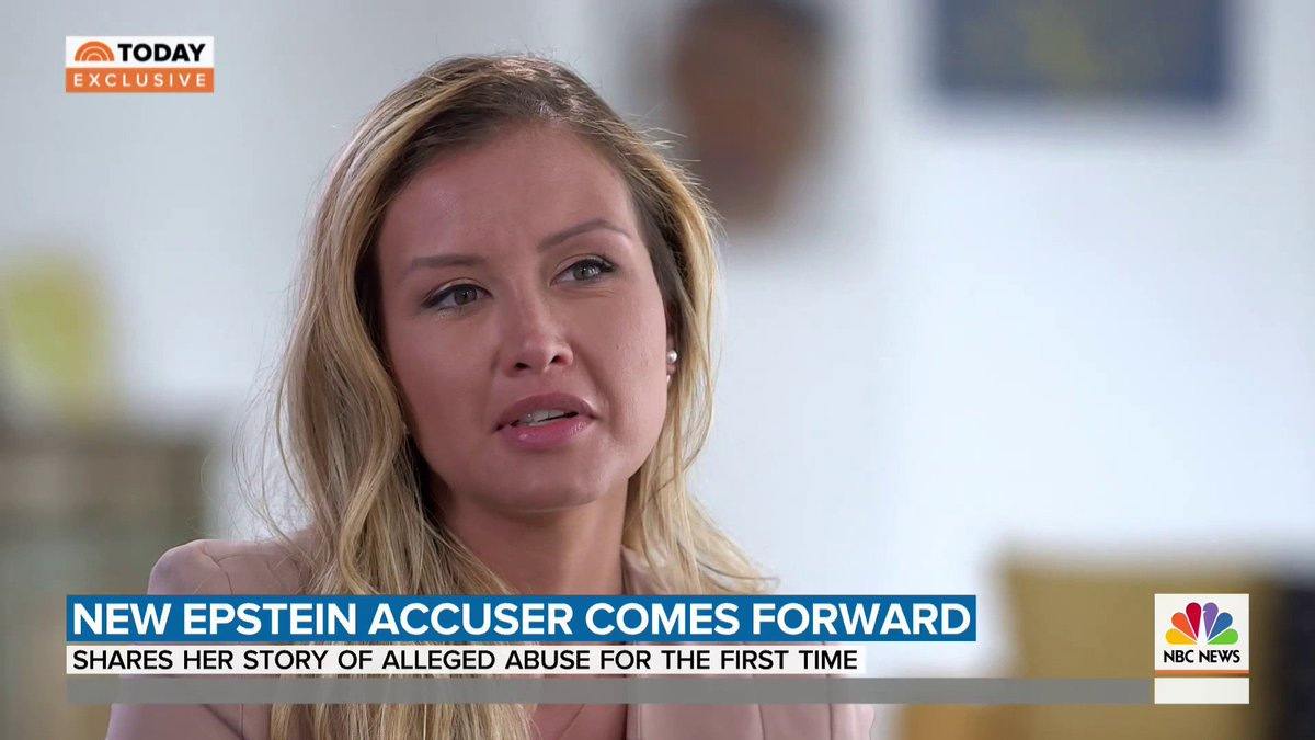 "NEW Epstein accuser Jennifer Araoz says things took a turn one day when she was 15: ""I was really scared. I didn't necessarily think that he was going to rape me.""  After that day, she never went back to his home and left the school she attended nearby. https://t.co/DLukMM14bL"