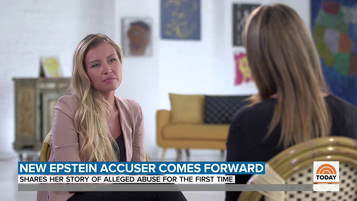 TRIGGER WARNING: Jeffrey Epstein accuser Jennifer Araoz says she suffered from crippling anxiety, depression and panic attacks for years until she finally confided in her mother, then-boyfriend and two close friends.  Araoz intends to file a lawsuit. https://t.co/Bvxh1pQNPN