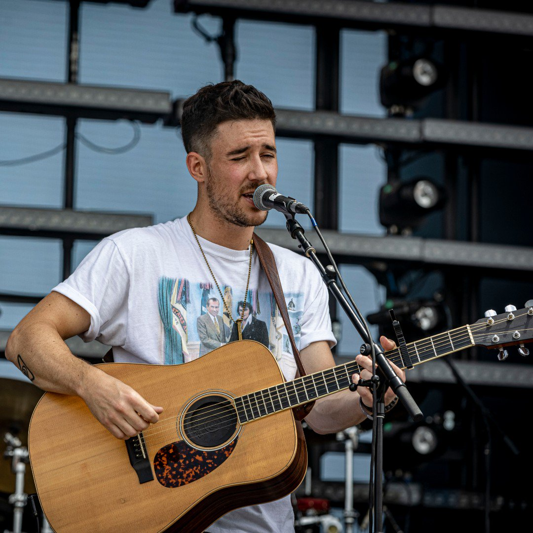 He did amazing at CCMF now who's ready to see him in Greenville? If you haven't already buy your tickets now at http://gvlfest.com ! #gvlfest2019 #greenvillecountrymusicfest   #countrymusic #olddominion #gythnation #greenvillesc #johngurney #filmore #lanco #fluorfield