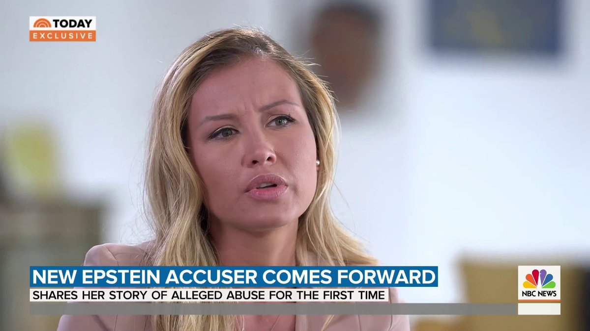 TRIGGER WARNING: HARD TO WATCH: Watch Savannah Guthrie's full exclusive interview with Jeffrey Epstein accuser Jennifer Araoz, who's sharing her story of alleged rape for the first time. https://t.co/lXIMearyvQ