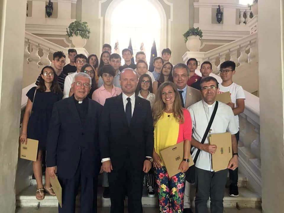 Malta - Don Bosco High School Students of Catania-Cibali on study holiday https://t.co/shHl1GqQSO https://t.co/xC57GyaiHO