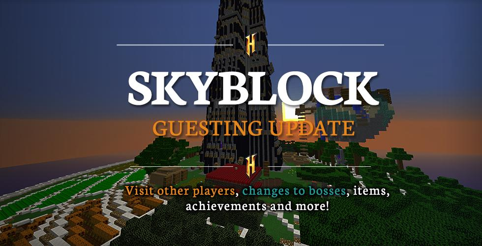 when is the next skyblock update