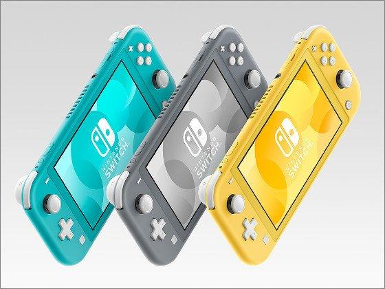 【速報】「Nintendo Switch Lite」9月20日に発売決定!TV出力をなくした携帯特化モデル。価格は19980円(税別)で、イエロー、グレー、ターコイズの3色。