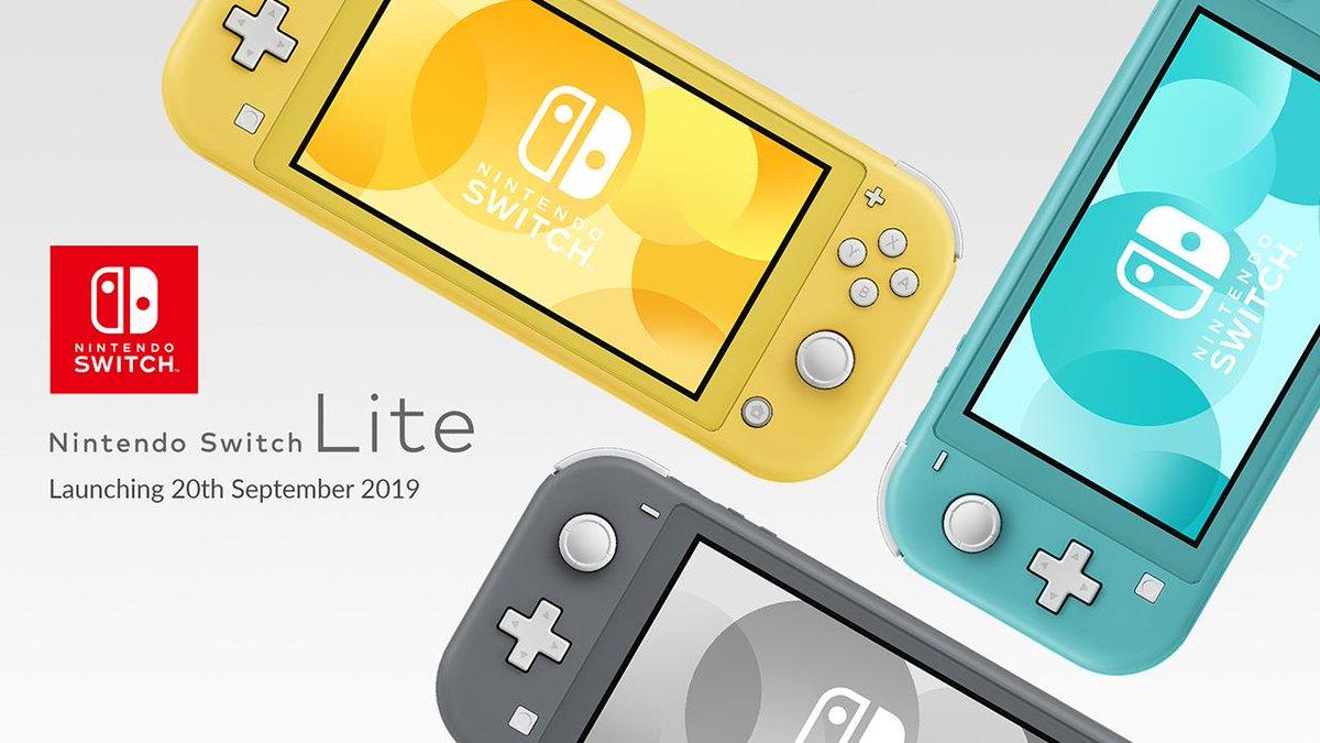 Nintendo Switch Lite นินเทนโดเปิดตัว สวิตช์แบบมือถือ เต็มรูปแบบ!