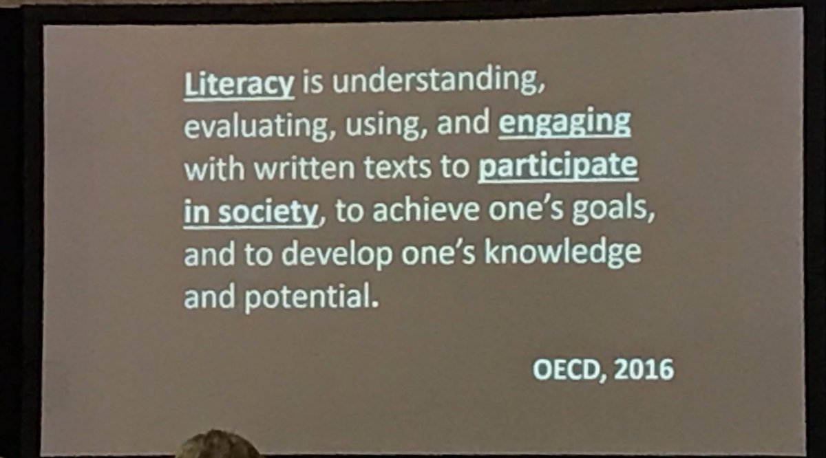 Understanding literacy at 2019 Summer Literacy Conference in Macon #literacy4ga