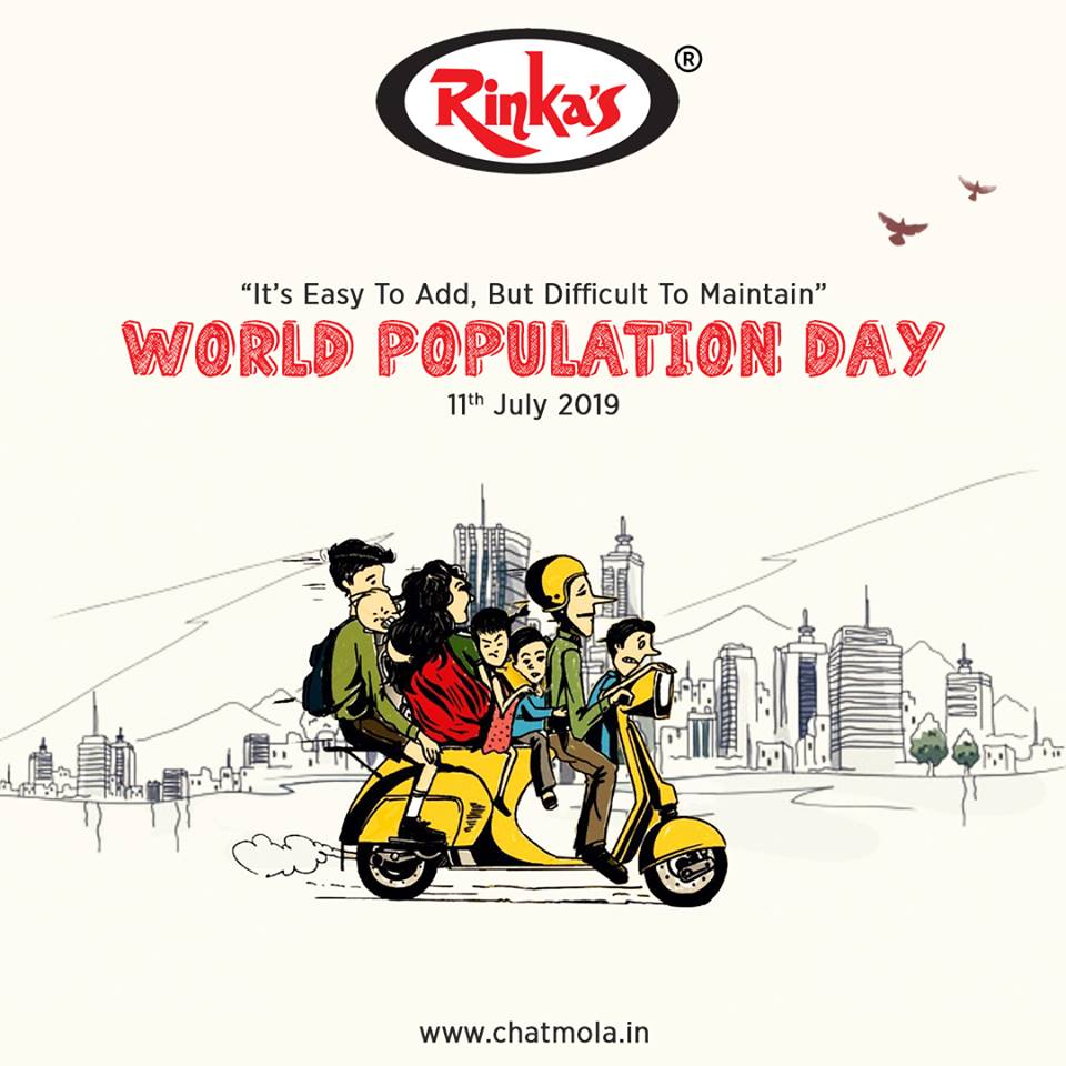 It is time to act and act strongly to control the growth of the population to help our coming generations.Let us celebrate World Population Day by promising ourselves to be more responsible towards the alarming rate of growing population.#worldpopulationday #chatmola