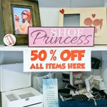 Image for the Tweet beginning: Half price across the store