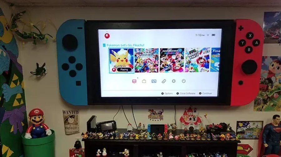 Switch Mini won't connect to a TV.  Switch Pro will be a TV.