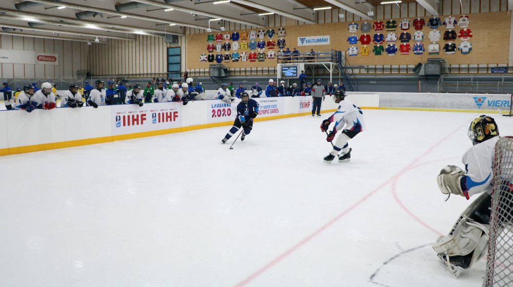 Ice Hockey At The 2020 Olympic Winter Games.Iihf On Twitter The Iihf Tested Out The New 3 On 3 Cross