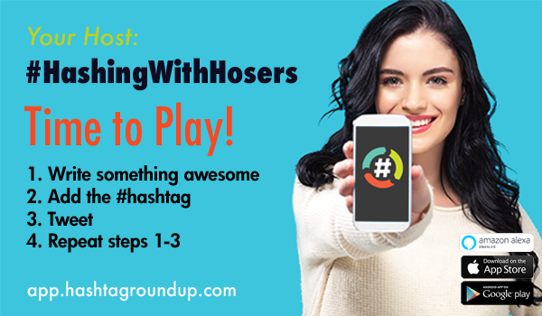 #CoffeeIn5Words is this week's #HashingWithHosers hosted by @SamAUAG