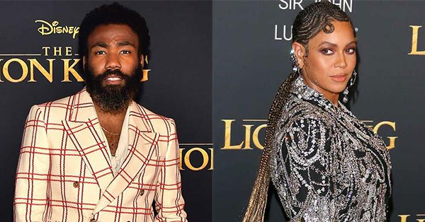 "Donald Glover talking about singing ""Can You Feel the Love Tonight"" with Beyonce is how everyone should feel when singing with Beyonce: ""I did not want to be looking into Beyoncé's eyes while doing this."" https://eonli.ne/2JuD8XD"
