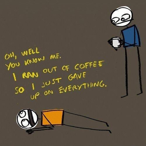 #CoffeeIn5Words Needed to function every day.