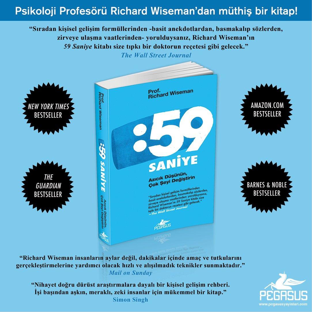 59 Seconds Richard Wiseman hashtag #59seconds sur twitter
