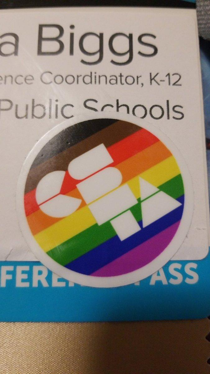 😍 these #CSTA stickers from @billmarsland at #CSTA2019! #CSforEveryone #CSForAll
