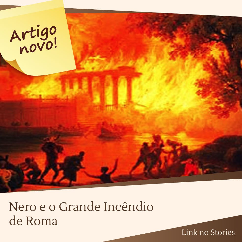 Confira no blog: https://t.co/bEqPjkeA5h  #nero #roma #incendioemroma #idadeantiga #romantiga #história https://t.co/JusKyfHcOs