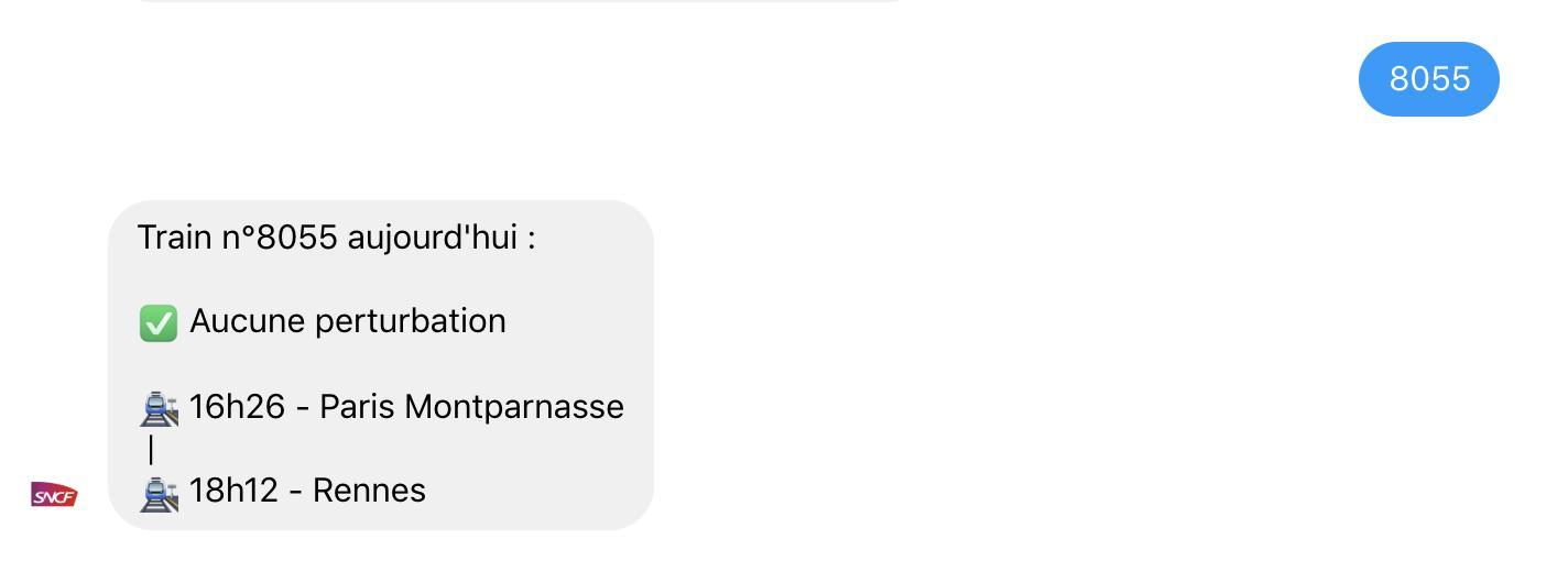 L'Agent virtuel SNCF