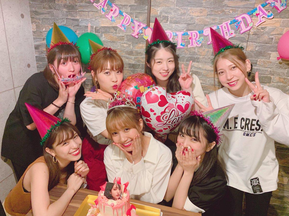 加藤玲奈さんの誕生日会に集いしメンバー