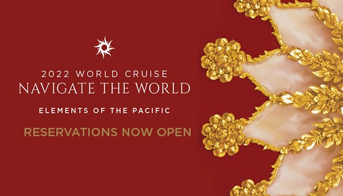 Join us and discover the secrets of the magnificent Pacific Rim on our 2022 World Cruise. Reservations now open. Learn more http://bit.ly/2Xzm9Mi #WorldCruise #ExperienceRegent #RegentCruises  #SouthPacific #Australia #NewZealand #SouthEastAsia #China #Japan #Russia #Alaska pic.twitter.com/WDyIsWJZB8