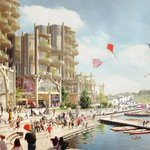 Image for the Tweet beginning: Quayside Toronto se précise. Découvrez