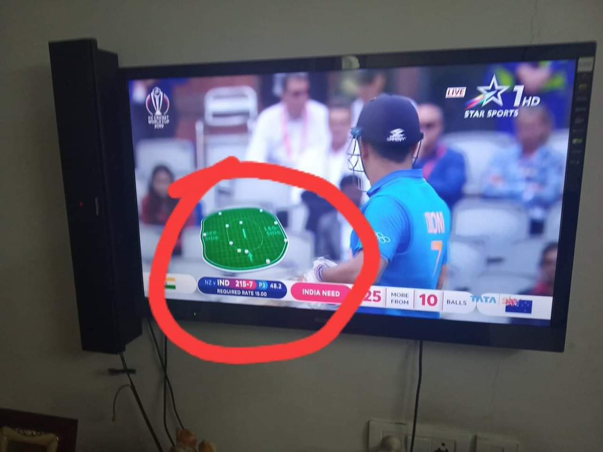 Just want a small clarification @ICC How Come 6 fielders stay outside the 30 yard circle during the third phase of powerplay (5 fielders are only allowed to stay outside the 30 yard circle)  #INDvsNZ #indiavsNewzealand #NZvsIND #CWC2019 #CWC19 <br>http://pic.twitter.com/nzKUnMrNA4