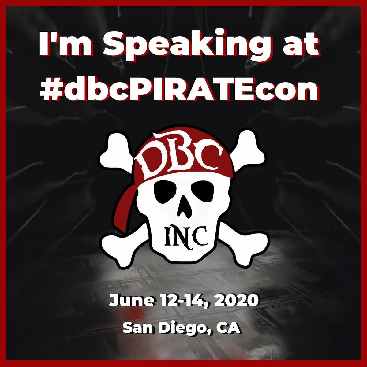 You did #dbcPIRATEcon on June 12-14 - Be there twitter.com/JamieArmin/sta…