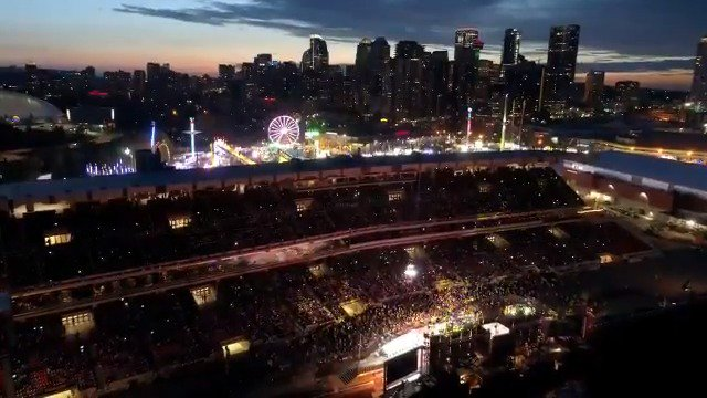 More interactive than ever before! Watch the Bell Grandstand Show: Trailblazer behind the scenes episode for a sneak peek of the BIG 💡💡💡 and even bigger performances with the @TYCCast & @Onaleag. Want more exclusive @CalgaryStampede content? Watch 👉 bit.ly/2LKWTLN