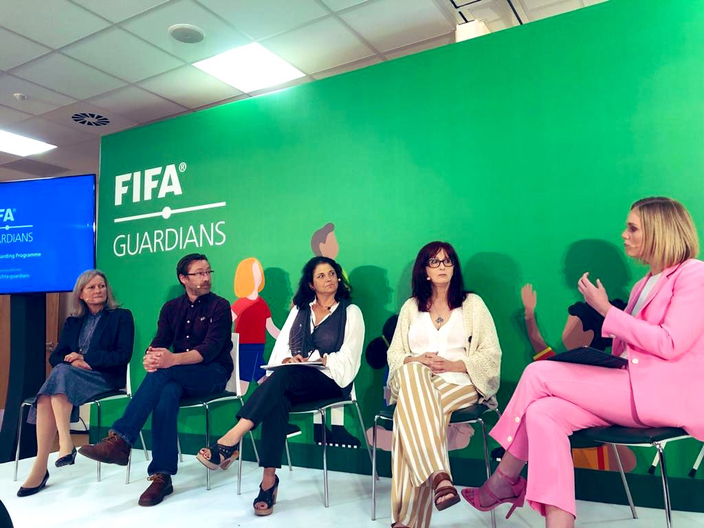.@EldaMorenoCoE spoke about the launch of #FIFAGuardians as being an incredible milestone & the protection of our children being up to us. Couldnt agree more @EldaMorenoCoE its #UpToUs!