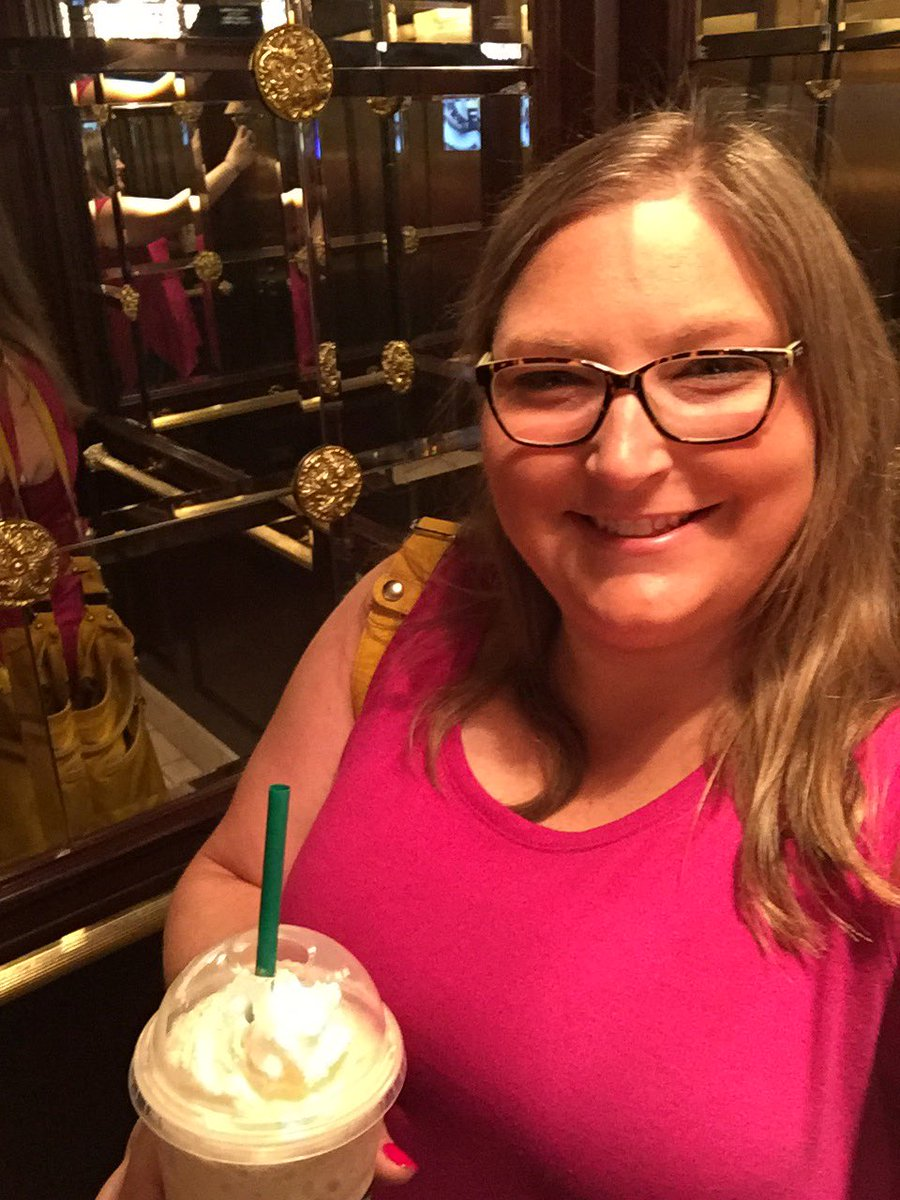 Elevator selfie with @Starbucks to start day 2 @SDE4Educators #iteachk #SDENationals #SDEevents #SDE2019 #fosterjoyfullearning <br>http://pic.twitter.com/66229iMwgq
