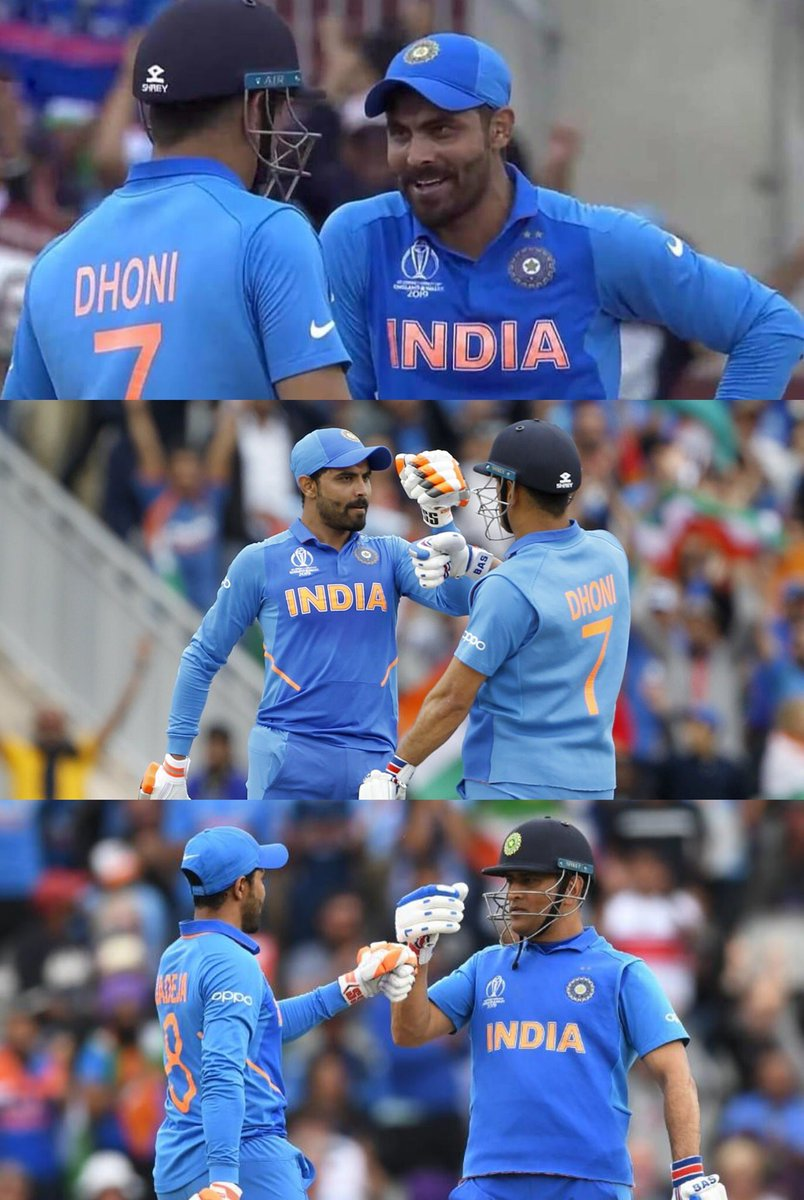 We will remember this fight for a very long time . #INDvsNZL #Teamindia #CWC19<br>http://pic.twitter.com/JWsVzmIhpD