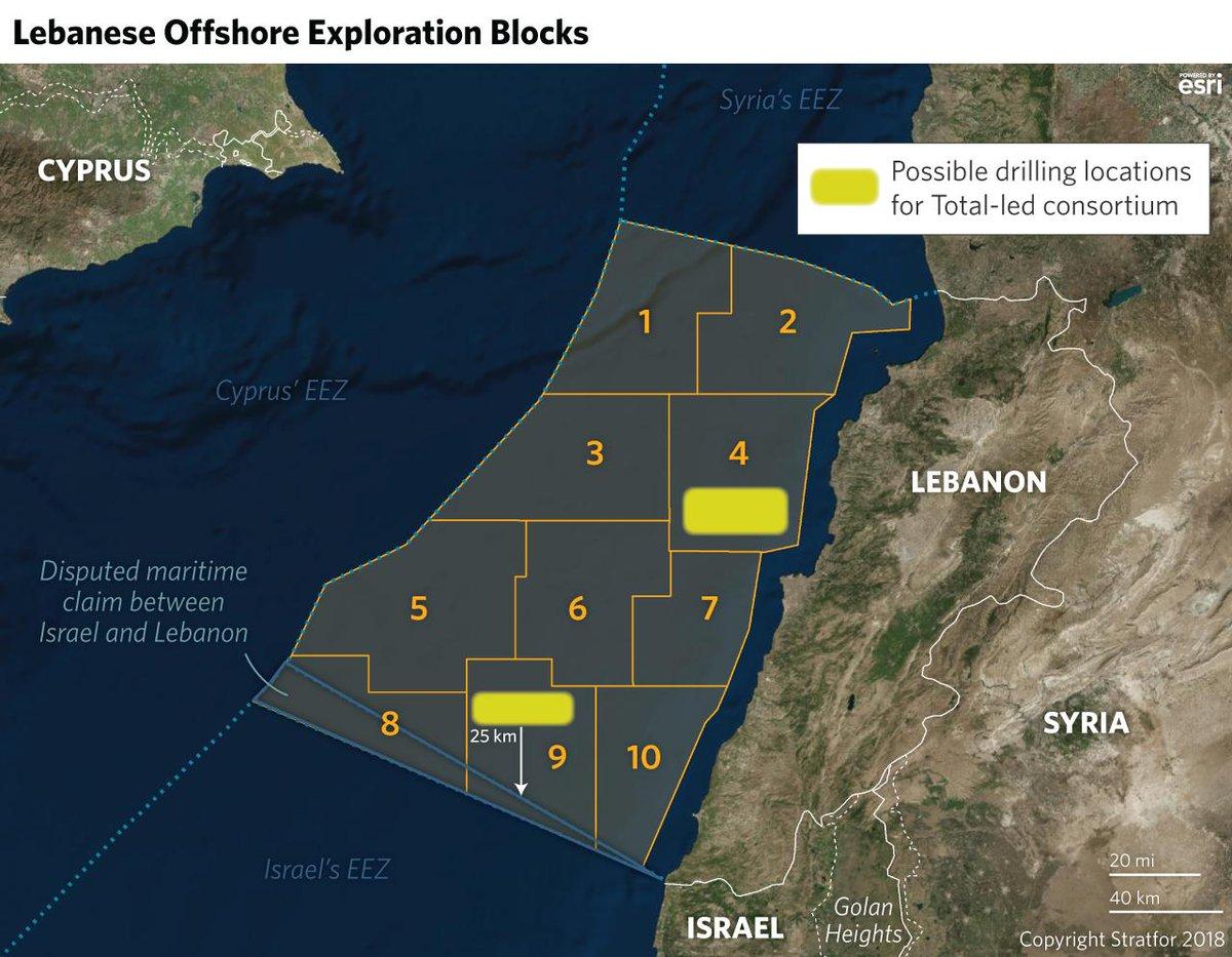 Image result for lebanon stratfor gas