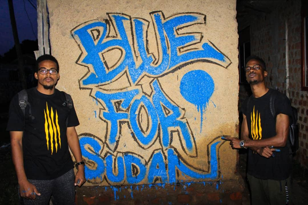 from Uganda with love. @249Writers #BlueForSudan  #Sudanuprising  #حنبنيهو<br>http://pic.twitter.com/HAnYK0Q47v