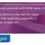Image for the Tweet beginning: CDC's #AFM investigation: Most patients